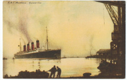 RmS  Mauretania   Gunard Line   1929 - Steamers