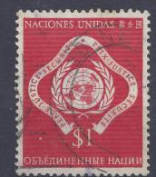 NATIONS UNIES - New York - N° 11 - Oblitéré - Gebraucht