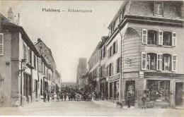 CARTE ALLEMANDE DE PHALSBOURG (4) - Phalsbourg