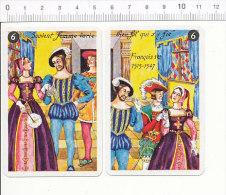 Citation Historique :  Souvent Femme Varie, Bien Fol Qui S'y Fie / François Ier / Roi Costumes Renaissance / IM 126-28/3 - Vieux Papiers