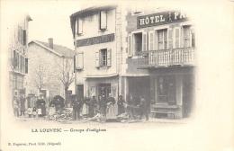 ARDECHE  07  LA LOUVESC  GROUPE D'INDIGENES - La Louvesc