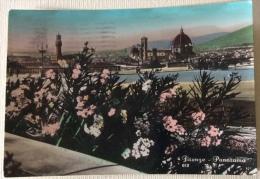 Firenze Panorama Viaggiata Anni 50 F.grande - Firenze