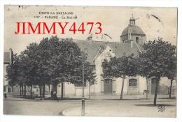 CPA N° 1127 - La Mairie En 1908, Animée - PARAME 35 Ille Et Vilaine - Scans Recto-Verso - Edit. Trèfle Ccccc - Parame