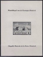 = Belgique 1941 Bloc 14 Non Dentelé Neuf Timbre 537B Au Profit De La Chapelle Musicale De La Reine Elisabeth - Blocks & Kleinbögen 1924-1960