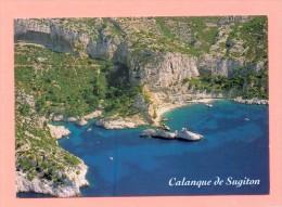 CPM  FRANCE  13  -  MARSEILLE  -  494  Calanque De Sugiton Et Des Pierres Tombées  ( PEC 80/90 ) - Autres