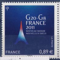 N° 4575   G20  Et G8   Neuf ** Année 2011 - Nuevos