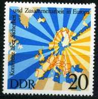 DDR - Mi 2069 - ** Postfrisch (B) - 20Pf      KSZE - DDR