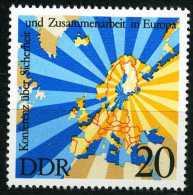 DDR - Mi 2069 - ** Postfrisch (C) - 20Pf      KSZE - DDR