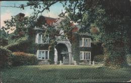 Warnham Court Lodge Gates Horsham  Used 1911 Dorking Postcard - Autres