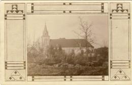 GARREBOURG(57) GAARBURG   Carte Photo  Eglise - France