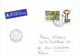 UN Geneva 2012 Postal Cover - Schepdaal (Belgium) - New International Economic Order - Office De Genève