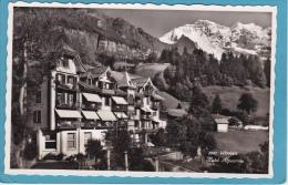 WENGEN  - HÔTEL  ALPENROSE -  CPSM - BE Berne