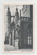 Halle- Roland Und Marktkirche - Halle (Saale)