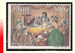 Zaire 1419**  500z Noel 1990 MNH - 1990-96: Neufs