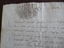 Papier Manuscrit 4 PP Généralité De Savoie Ventes De Terres 1760.Sallanche, Chelde,Passy, Joux.Famille Crottez,Biollay,. - Historical Documents