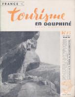 C1 Tourisme En DAUPHINE 15 1956 SAINT NIZIER Vercors FOIRE De GRENOBLE - Rhône-Alpes