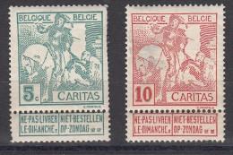 Belgique  Caritas  Exposition D'art N° 86 & 87 - 1910-1911 Caritas