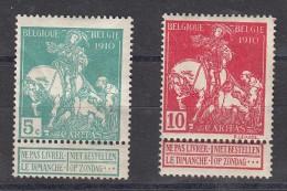 Belgique  Caritas  Exposition D'art N° 90 & 91 - 1910-1911 Caritas