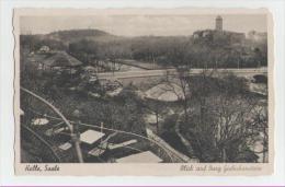Halle- Blick Auf Burg Giebichenstein - Halle (Saale)