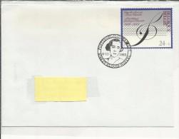 8768 St-Eloois-Winkel  4-11-1989 - Chapelle Musicale Reine Elisabeth - Timbre N° 2344 - Other