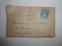 AL_07_lettre De Paris Etoile 28 - 1849-1876: Période Classique