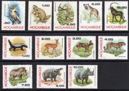 MOÇAMBIQUE  1976   FAUNA DE MOÇAMBIQUE  FAUNES DU MOZAMBIQUE    FAUNA OF MOZAMBIQUE - Mozambique