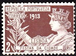 PORTUGAL (IMP. POSTAL E TELEG.) 1913. Festas Da Cidade De Lisboa.   2 C.  (*) MNG  Afinsa  Nº 6 - Télégraphes