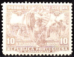 PORTUGAL (IMPOSTO POSTAL E TELEGRÁFICO) 1925.  Padrões Da Grande Guerra. 10 C. CAST.  (*) MNG  Afinsa Nº 16 - Télégraphes