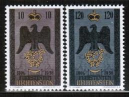 LI 1956 MI 346-47 - Liechtenstein