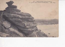 TREGASTEL (Côtes D´Armor-22), Le Sentier De La Roche Tire-Bouchon, Rocher, Ed. ND, 1915, Versaevel - Trégastel
