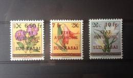 South Kasai - 1/13 - Flowers - Mistaken Overprint / Proofs - 1961 - MNH - South-Kasaï