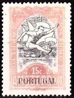 PORTUGAL (IMP. POSTAL E TELEGRÁFICO) 1928. Jogos Olímpicos.  15 C.  (*) MNG  Afinsa Nº 21 - Télégraphes
