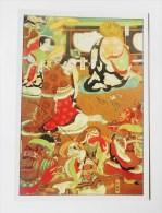 CARTE Peinture Japonaise Editions La Guilde - Mort De Bouddha - Cartes Postales