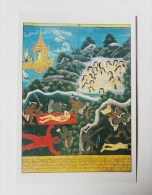 CARTE Peinture Birmanie Editions La Guilde - Scènes De Nimi Jâtaka - Postkaarten