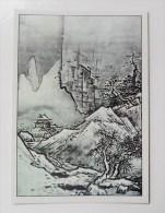 CARTE Peinture Japon Editions La Guilde - Paysage D'hiver - Cartes Postales