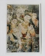 CARTE Peinture Japon  Editions La Guilde - Miroku - Cartes Postales