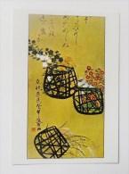 CARTE Peinture Japon  Editions La Guilde - Les Trois Corbeilles - Cartes Postales