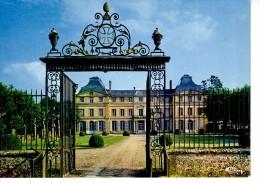 Digny Le Château De La Hallière ( Porte En Fer Forgé - Unclassified