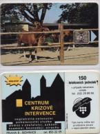 CZECHOSLOVAKIA PHONECARD HORSE-USED