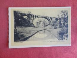Luxembourg  Vallee De La Petrusse Et Pont Adolphe  Ref 1746 - Andere