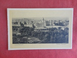 Luxembourg  Plateau Bourbon Ref 1746 - Postkaarten