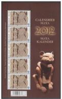 4194** de Maya Kalender** 2012 - Feuille Calendrier Maya MNH Very Rare!!! 2012 -  Moeilijk te vinden