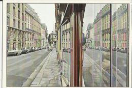 Carte Glacée De Scene De Rue Parisienne De ( Estes Richard Né A Evanston-Illinois 1936 ) Huile Sur Toile -Voir Scan - Museum