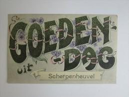 Cpa/pk 1913 Goedendag Uit Scherpenheuvel - Scherpenheuvel-Zichem