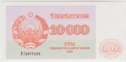 Uzbekistan 10000 Sum 1992 Pick 72 UNC - Usbekistan
