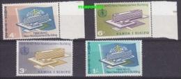 Samoa 1966 WHO Headquarters Building 4v ** Mnh (20180) - Samoa