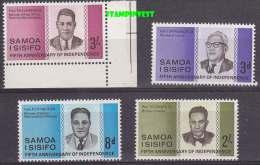 Samoa 1957 50th Anniversary Of Independance  4v ** Mnh (20181) - Samoa