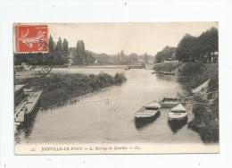 Cp , 94 , JOINVILLE LE PONT , Le Barrage De JOINVILLE , Voyagée 1909 - Joinville Le Pont