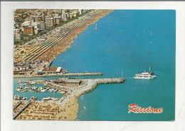 88269 RICCIONE  MANCA FRANCOBOLLO - Rimini