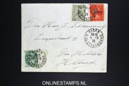 Algerie  Lettre 1928 Alger A Den Helder Hollande  Mixed Timbres - Algerije (1924-1962)
